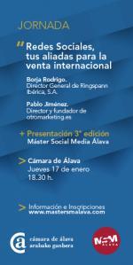 Conferencia: Redes Sociales, tus aliadas para la venta internacional