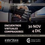 Encuentros Virtuales Compradores de  Países Bálticos - Proveedores 4.0