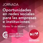 Jornada: Oportunidades en redes sociales para empresas e instituciones