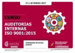 Auditorías internas ISO 9001:2015