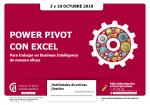 Power Pivot con excel
