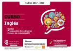 Inglés 2017/2018