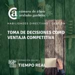 Toma de decisiones como ventaja competitiva - ESCUELA VIRTUAL -