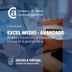 Excel medio/avanzado para analizar y transformar la información y su control de gestión diaria - ESCUELA VIRTUAL