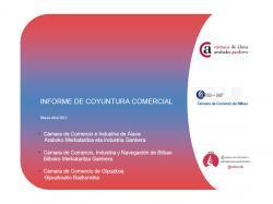 El comercio minorista vasco continúa con una tendencia negativa