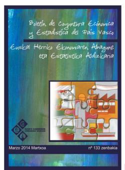 Boletín de Coyuntura y Estadística del País Vasco - Primer trimestre 2014