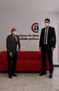 La Cámara de Álava abre una ventanilla para acercar a las empresas alavesas las ayudas europeas que provengan del Plan de Recuperación de Europa