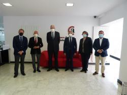 La Cámara de Álava organiza un encuentro de empresas alavesas con el Embajador de Paraguay