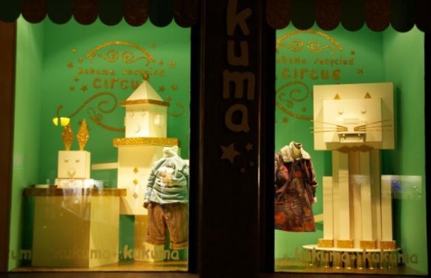 Kukuma, Perfumería Lorea y Goya Floristas, Premios Visual Sariak 2011 a los mejores escaparates