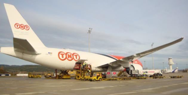 La carga transportada en el Aeropuerto de Vitoria-Gasteiz creció un 24% en 2011, el mayor incremento de toda la red Aena