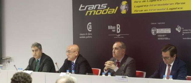 Intervención de Gregorio Rojo, presidente de la Cámara de Álava, con motivo de TRANSMODAL 2012-V Foro de Logística Intermodal