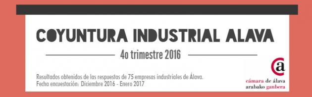 La industria alavesa cierra 2016 al alza y afronta la primera mitad de 2017 en positivo