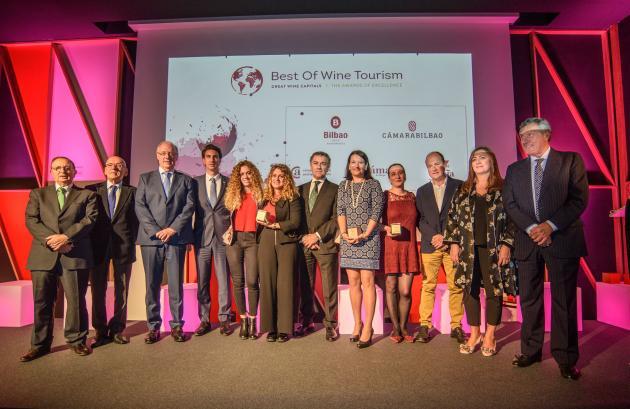 Bodegas Valdemar de Oion, Premio Best Of de Turismo Vitivinícola 2018
