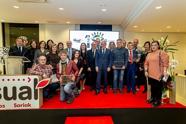 Ormaetxea Bicicletas de Amurrio recibió el primer galardón de los Premios Visual Sariak 2018