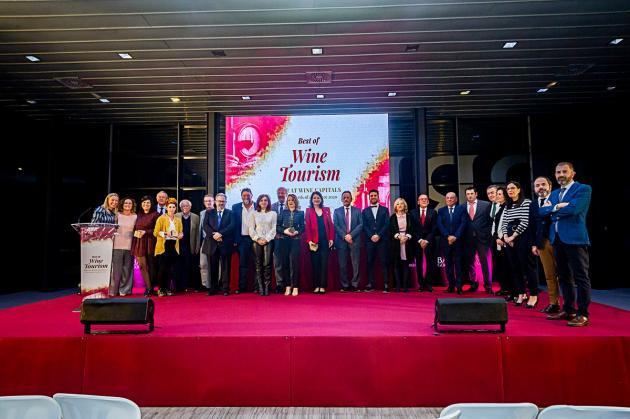 Las alavesas Bodegas Valdemar, Museo Villa Lucía y Bodegas Murua ganadoras de los Premios Best Of Wine Tourism