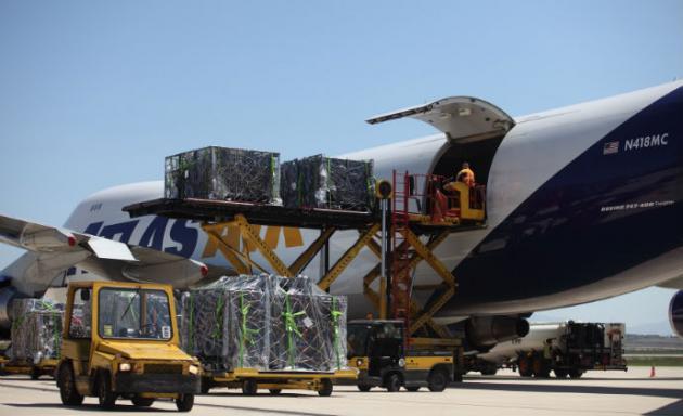 La carga transportada en el Aeropuerto de Vitoria crece un 10,2% entre enero y abril