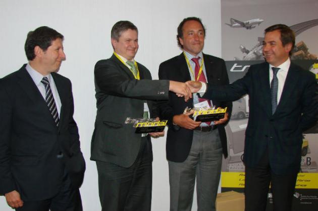 Cega Logistics y  BLG Soluciones Logísticas Integradas España, Premios TRANSMODAL a las Mejores Iniciativas de Logística Intermodal del País Vasco