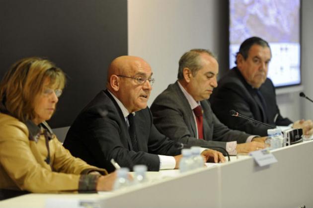 Intervención de Gregorio Rojo, presidente de la Cámara de Álava, con motivo de TRANSMODAL 2011-IV Foro de Logística Intermodal