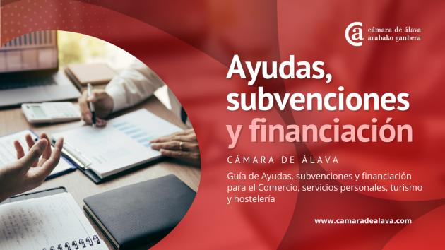 Ayudas, subvenciones y financiación para el Comercio, servicios personales, turismo y hostelería