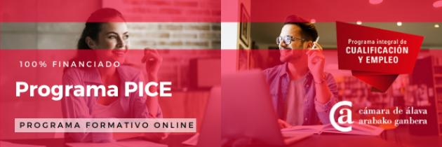 PICE - Formación online gratuita para jovenes